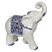 Sagebrook Home 15 in. Ceramic Elephant Figurine