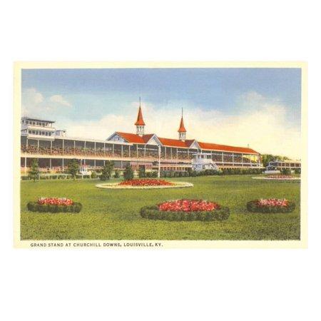 Churchill Downs, Louisville, Kentucky Print Wall Art (Kentucky Derby Decor)