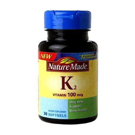 Nature Made Vitamin K2 100 Mcg Softgels   30 Ea
