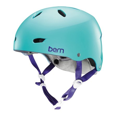Bern Brighton EPS Satin Seafoam Green M-L Summer Womens Helmet 2016