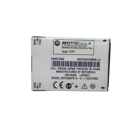 OEM Motorola BT91 Extended Battery for Moto Q, KRZR K1, A455, W385, W766, A455, W380, W385, W755, W766 (SNN5765A) ()