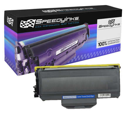 SpeedyInks - Compatible Brother TN360 TN-360 Black Toner Cartridge for use in DCP-7030, DCP-7040, DCP-7045N, HL-2140, HL-2150N, HL-2170W, MFC-7320, MFC-7340, MFC-7345DN, MFC-7345N, MFC-7440N Compatible Black Toner Kit
