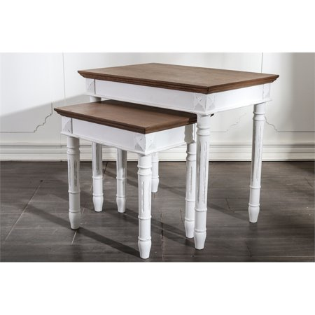 International Caravan Ashbury Nested End Table - Set of
