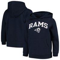 Youth Navy Los Angeles Rams Team Fleece Pullover Hoodie