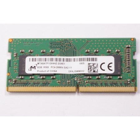 MTA8ATF1G64HZ-2G6E1 Micron 8gb Pc4-21300 Ddr4-2666mhz So-Dimm (Micron Laptop Memory)