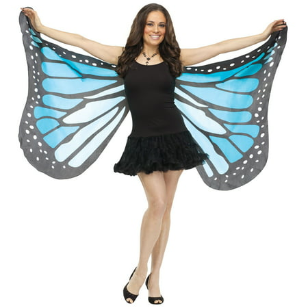 Soft Butterfly Adult Wings - Blue - Butterfly Costume