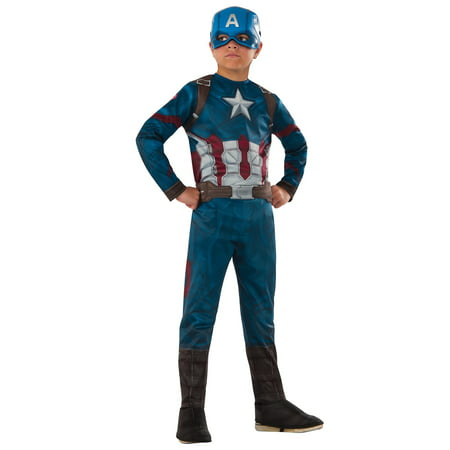 Marvel's Captain America: Civil War - Captain America Costume for Kids