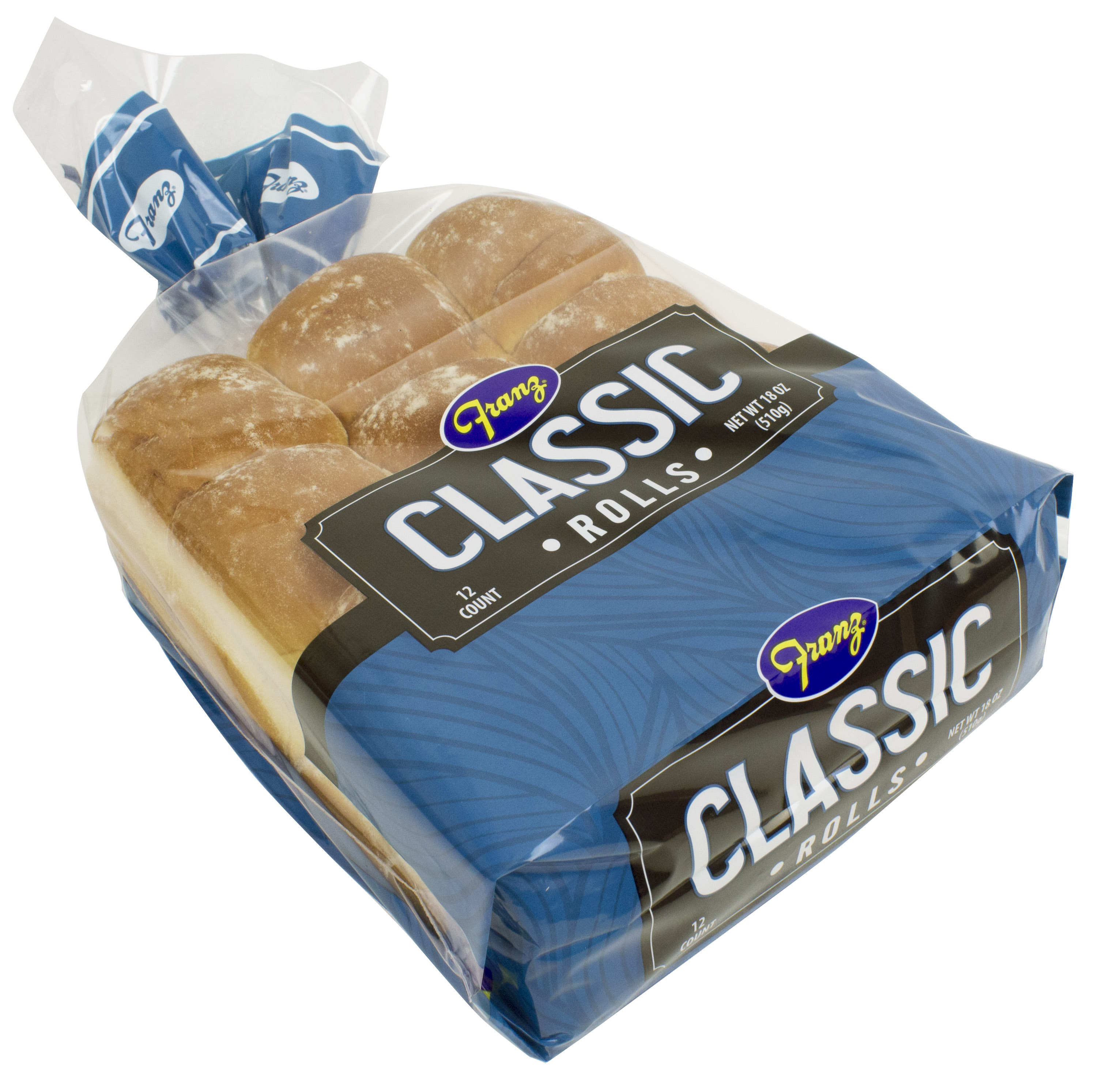Franz Classic Dinner Rolls, 12 ct, 18 oz