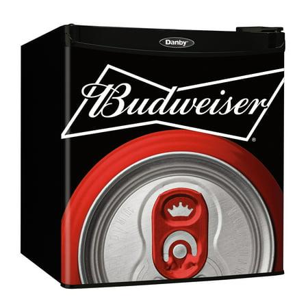 Danby 1.6 cu. ft. Compact Refrigerator With Budweiser Door