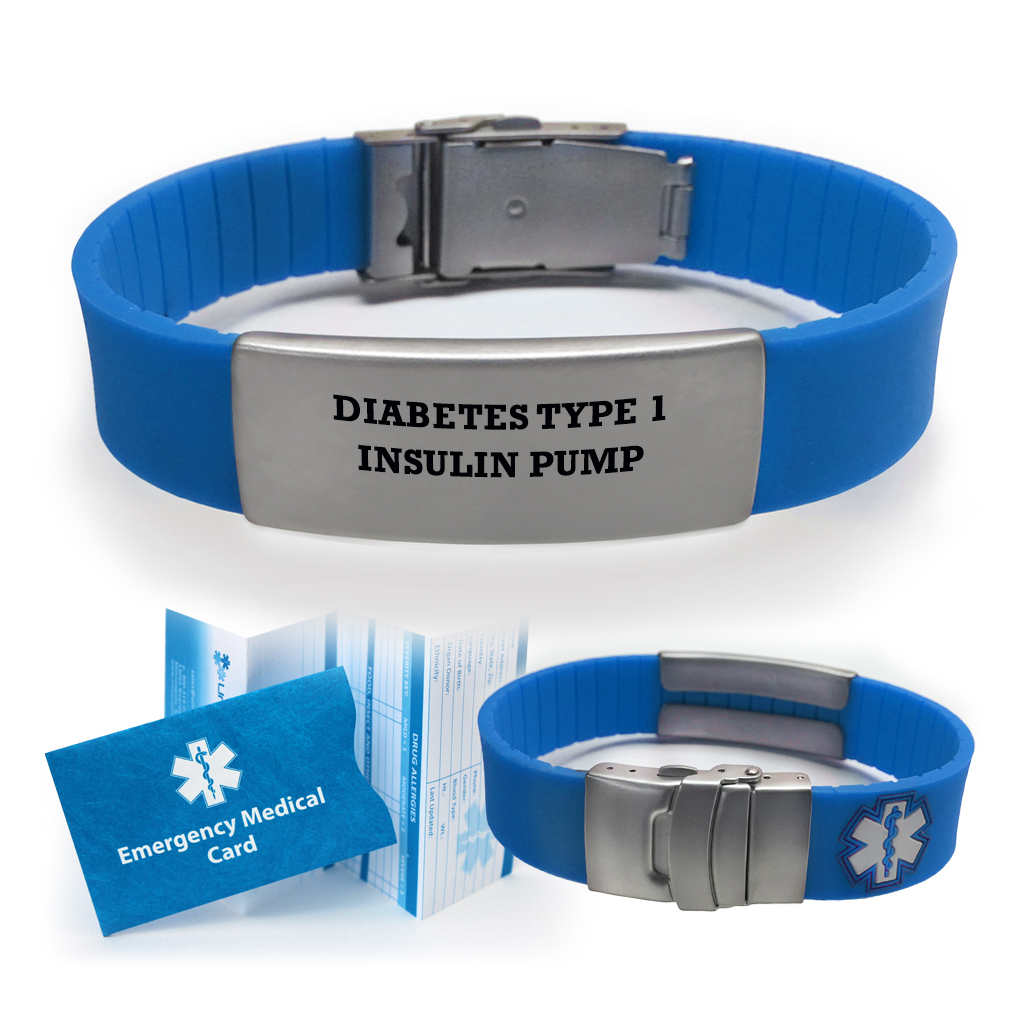 medical com ip type color id choose diabetes insulin bracelet walmart sport pump alert