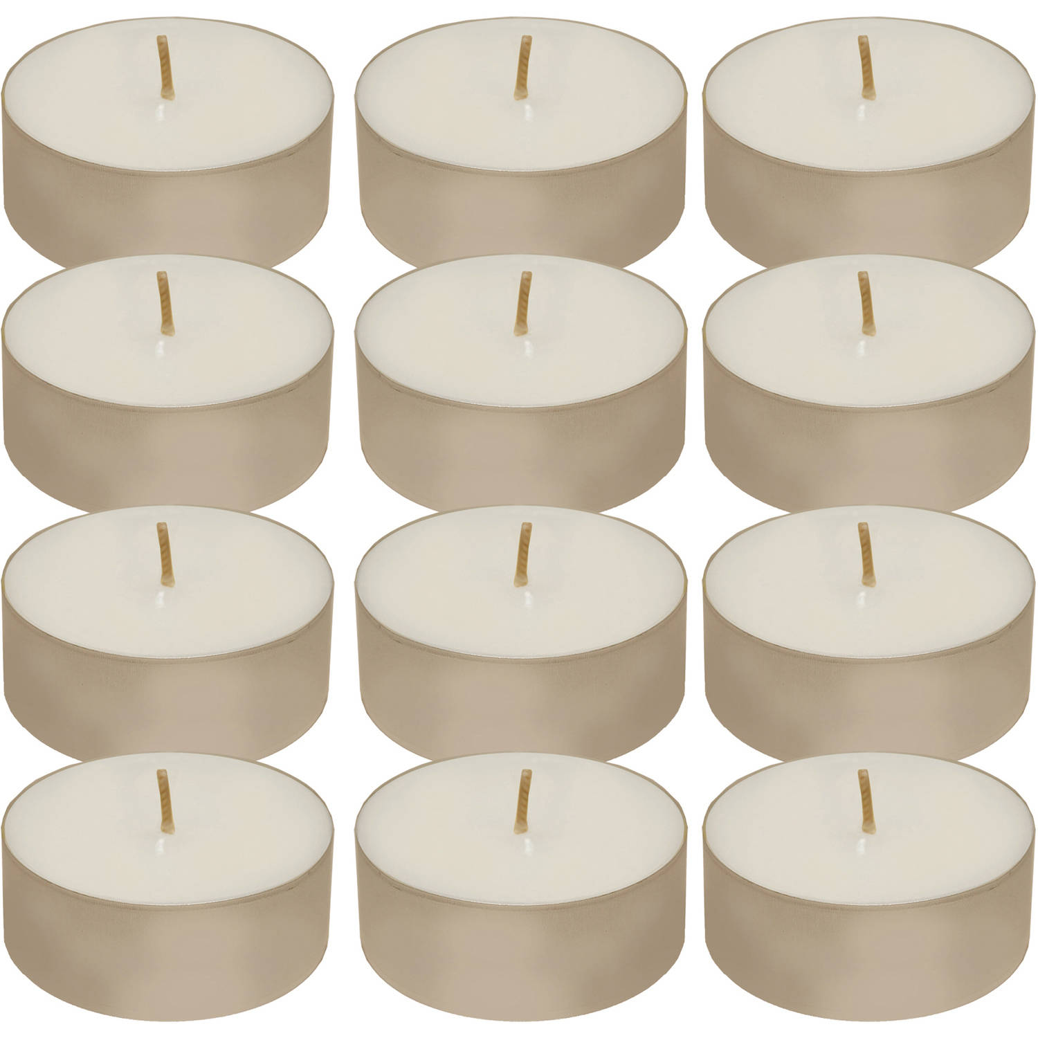 Extra Large Tea Light Candles, 12 Count
