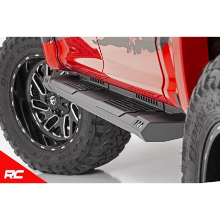 Rough Country HD2 Running Boards Fits 2009-2018 [ Dodge ] Ram 1500 Crew Cab Truck Side Steps (Fits Crew Cab)