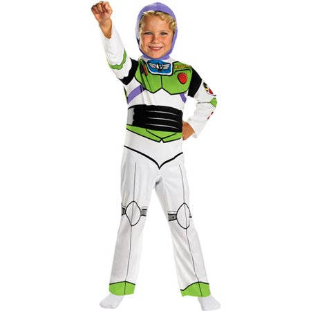 Toy Story Buzz Lightyear Child Halloween Costume (Halloween Pails Wholesale)