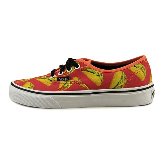 d4293455e61 Vans - Vans Authentic Late Night Coral Tacos Ankle-High Canvas  Skateboarding Shoe - 7.5M   6M - Walmart.com