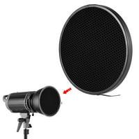 "Photo Studio 16.8cm 40 Degree Honeycomb Grid for 7"" Standard Reflector Diffuser Lamp Shade Dish"