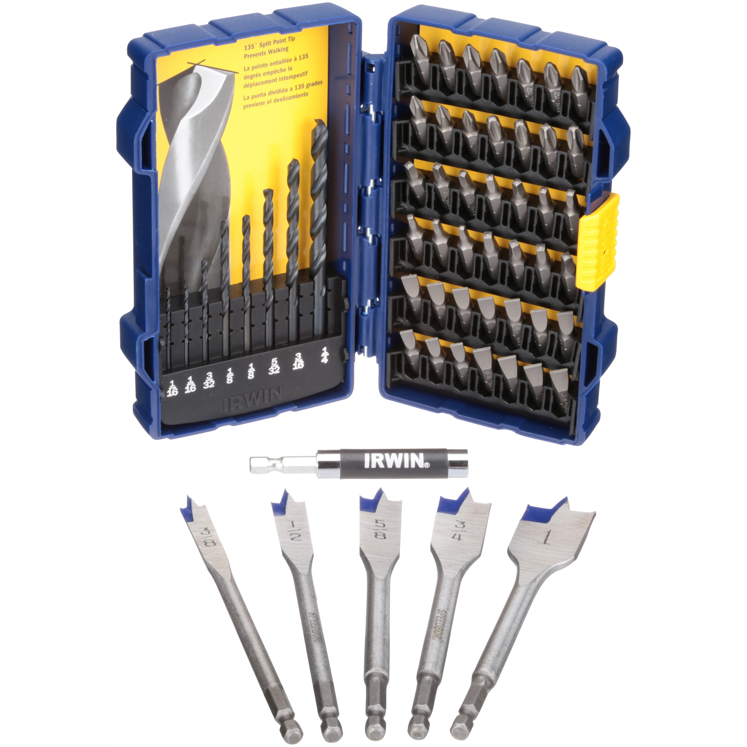 Irwin® Drill/Drive Set 56 pc Pack