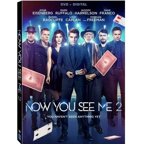 Now You See Me 2 (DVD + Digital HD)