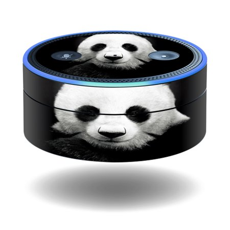 MightySkins Protective Vinyl Skin Decal for Amazon Echo Dot (1st Generation) wrap cover sticker skins Panda
