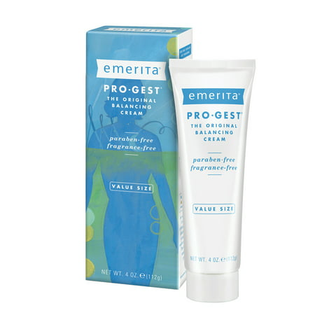 Emerita Pro-Gest Balancing Cream | The Original Progesterone Cream | for Optimal Balance at Midlife Pro Gest Progesterone Cream