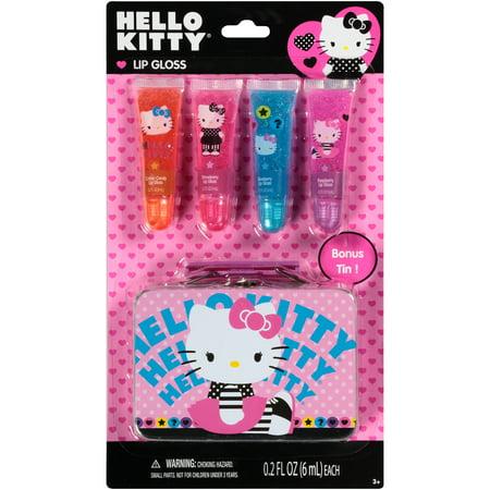 031751150 Hello Kitty Lip Gloss Gift Set, 5 pc - Walmart.com