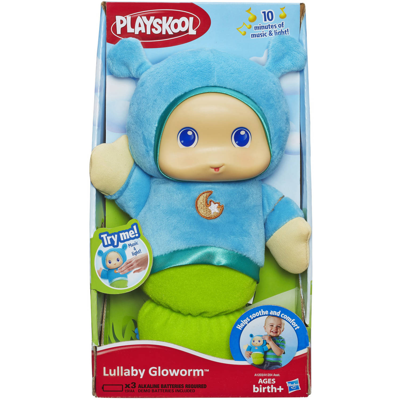 Playskool Play Favorites Lullaby Gloworm Toy, Blue - Walmart.com