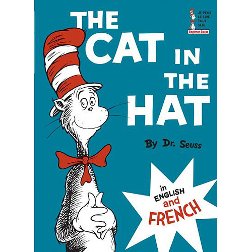 Cat in the Hat English and French