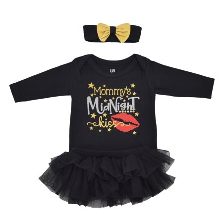 Girls Midnight Kiss New Years Eve Party Tutu Layette (18 Months)](Eve Torres Halloween)