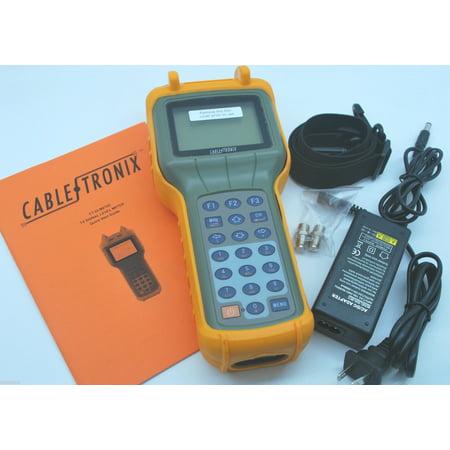 (CABLETRONIX DIGITAL/ANALOG SIGNAL LEVEL METER CT-DLM870D CATV QAM BER MER DVB-C)