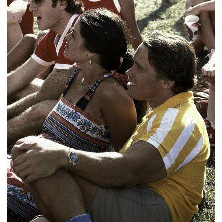Arnold Schwarzenegger And Maria Shriver Photo Print