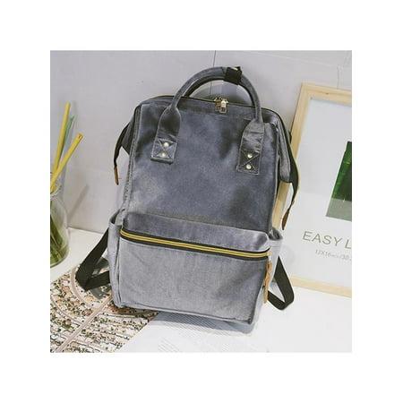 b96e63a2d3b3 Meigar - Meigar Women Girl School Backpack Travel Velvet Rucksack Shoulder Bag  Fashion Gift for her