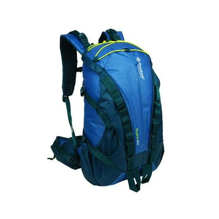 Outdoor Products Skyline Internal Frame Backpack, 28.9-Liter Storage (Blue Ashes) ()