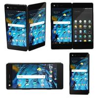 Axon M Z999 ZTE 64GB AT&T GSM Unlocked Dual Screen Smartphone - Carbon Black
