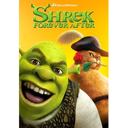 SHREK FOREVER AFTER - Halloween Shrek Dvd