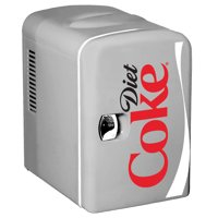 Diet Coke Personal 6 Can Mini Fridge with Warming (Various Options)