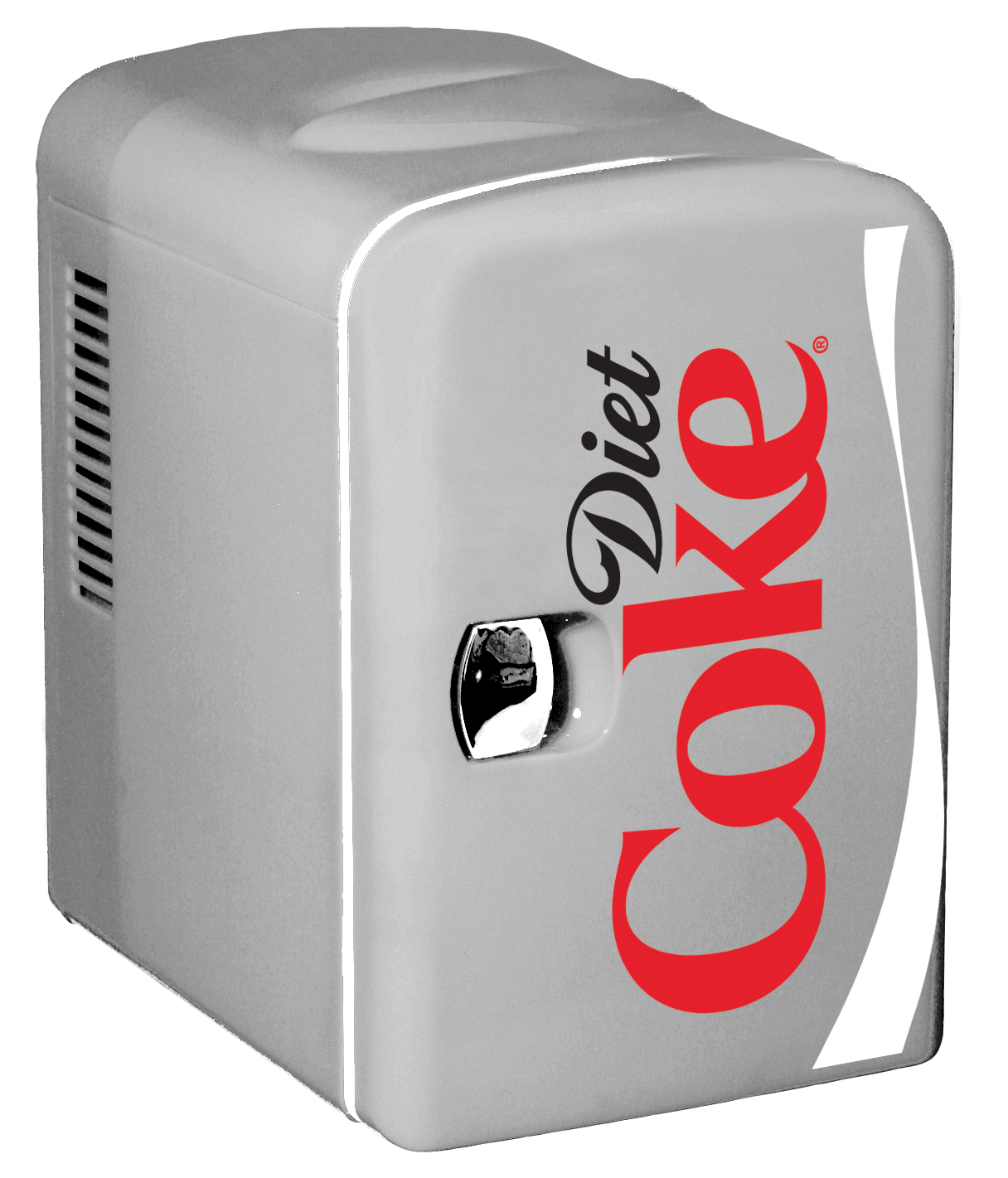 Diet Coke Personal 6 Can Mini Fridge with Warming