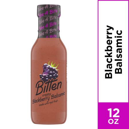 Bitten Salad Dressing Blackberry Balsamic, 12 oz