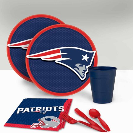 Patriot Party (New England Patriots Tableware Party Pack for)