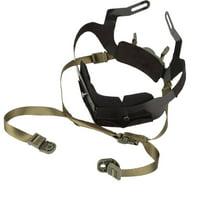 HERCHR Outdoor Adjustable Helmet Liner Kit Head Locking System Headset Accessory, Helmet Liner Kit, Helmet Locking System