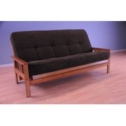 Somette  Monterey Honey Oak Full-size Futon Set