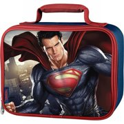 Thermos Superman Soft Lunch Box Insulated Lunch Bag Super Man Lunchbox
