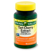 Spring Valley Tart Cherry Extract Dietary Supplement, 1200 mg, 90 count
