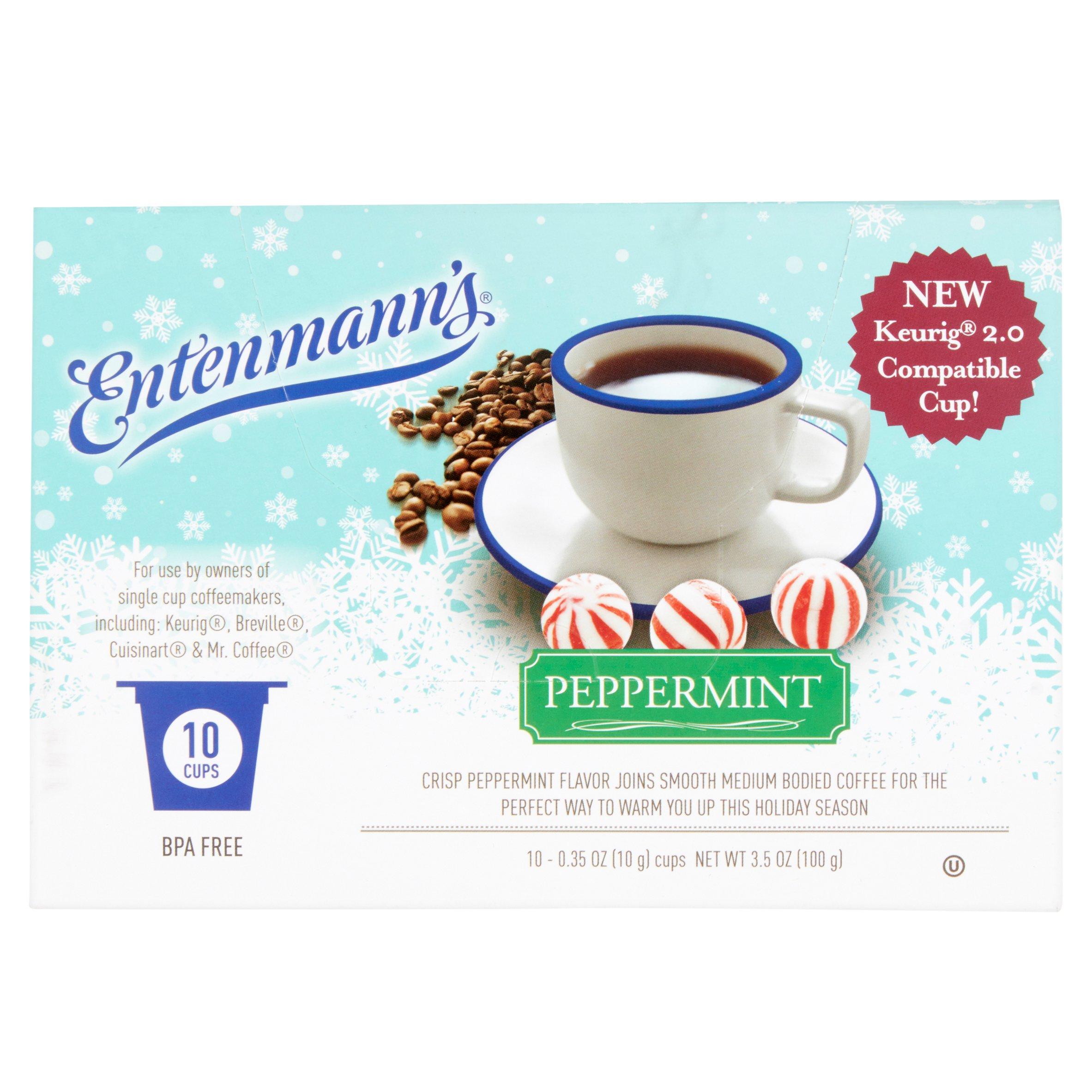 Entenmann's Peppermint Coffee, 0.35 oz, 10 count