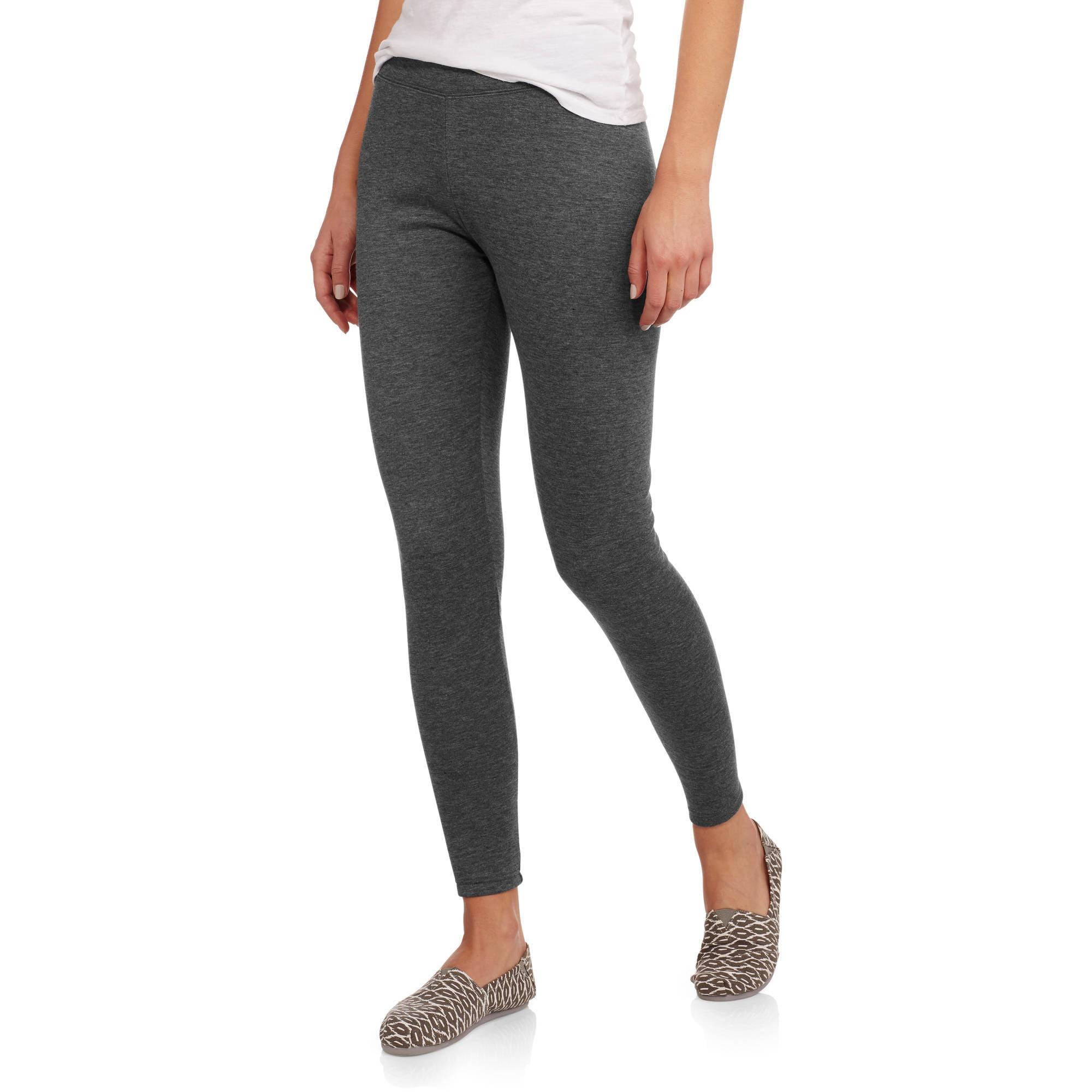 d78ecc8422f790 Faded Glory - Women's Fleece Lined Leggings - Walmart.com
