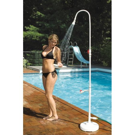 HydroTools 89031 Swimming Pool Spa Poolside PVC Hose Hookup Shower Ball - Poolside Shower