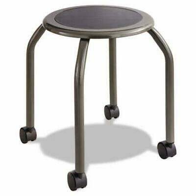 Safco Diesel Series Industrial Stool, Padded Seat, Casters, Steel Diesel Series Industrial Seating