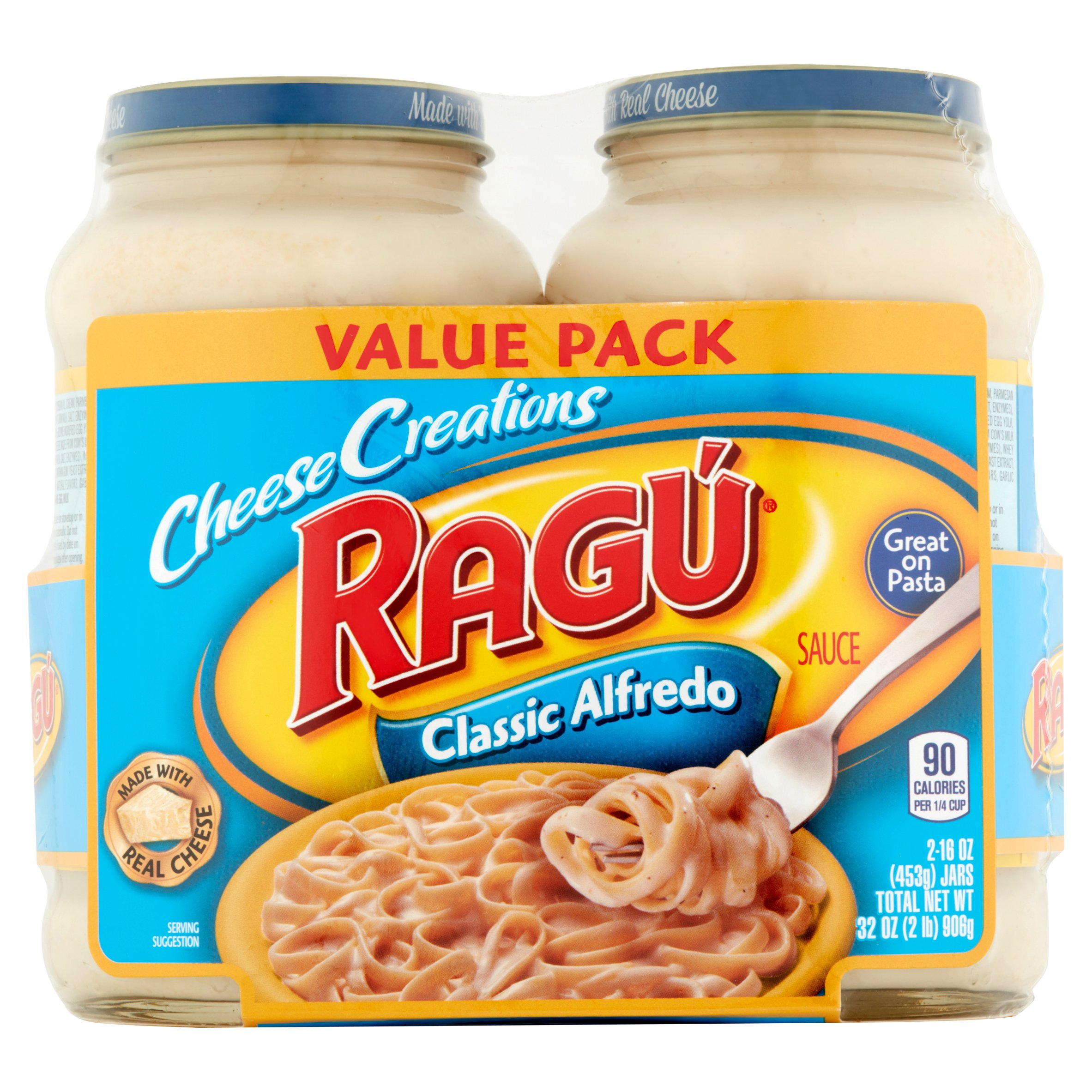 Ragú Cheese Creations Classic Alfredo Sauce 16 oz. each (Pack of 2)