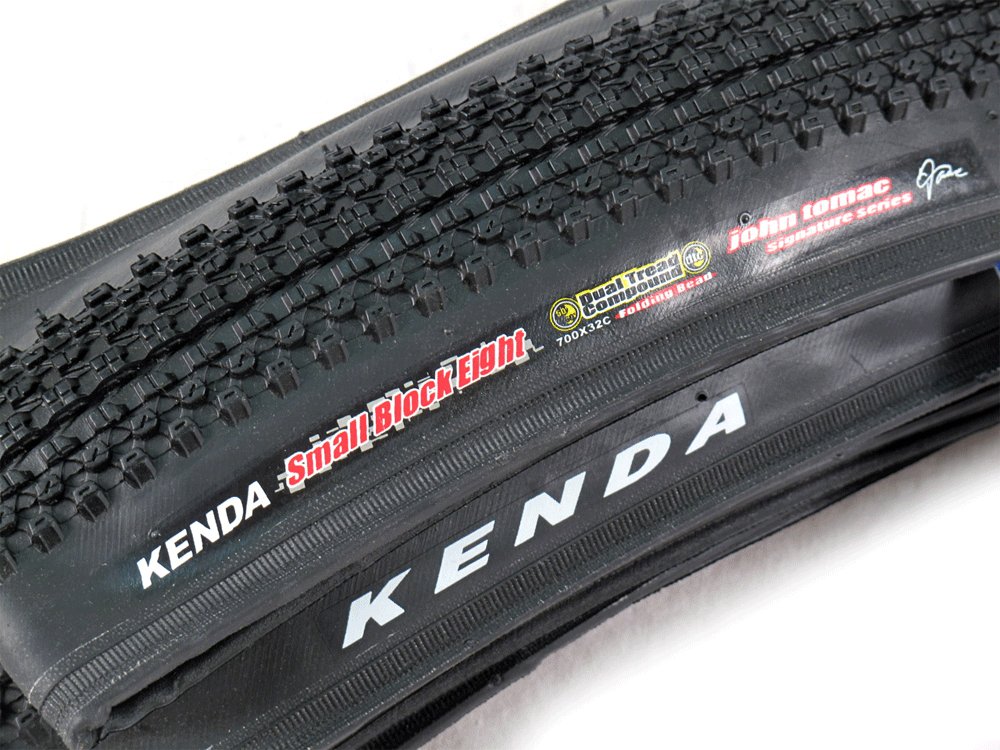 Kenda Small Block-8 DTC/SCT Folding Cross Tire 700x32c Tubeless ...