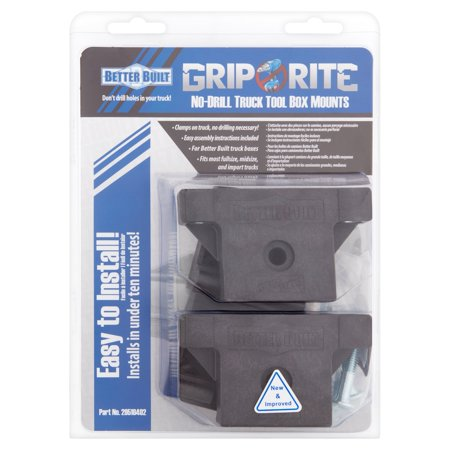 Better Built Grip Rite No-Drill Truck Tool Box Mounts