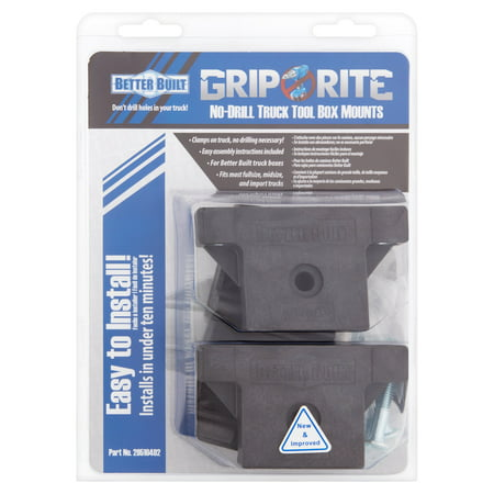 - Better Built Grip Rite No-Drill Truck Tool Box Mounts