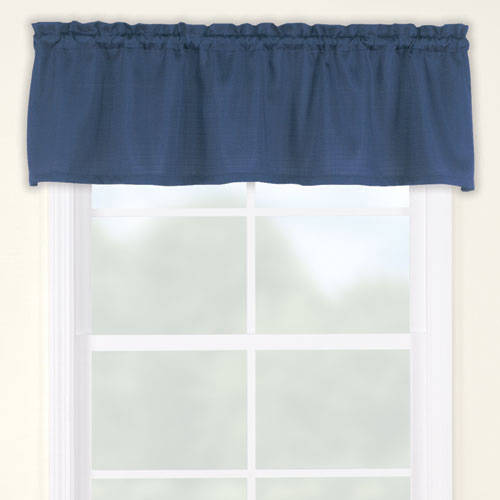 Mainstays Bennett Heavyweight Textured Window Valance